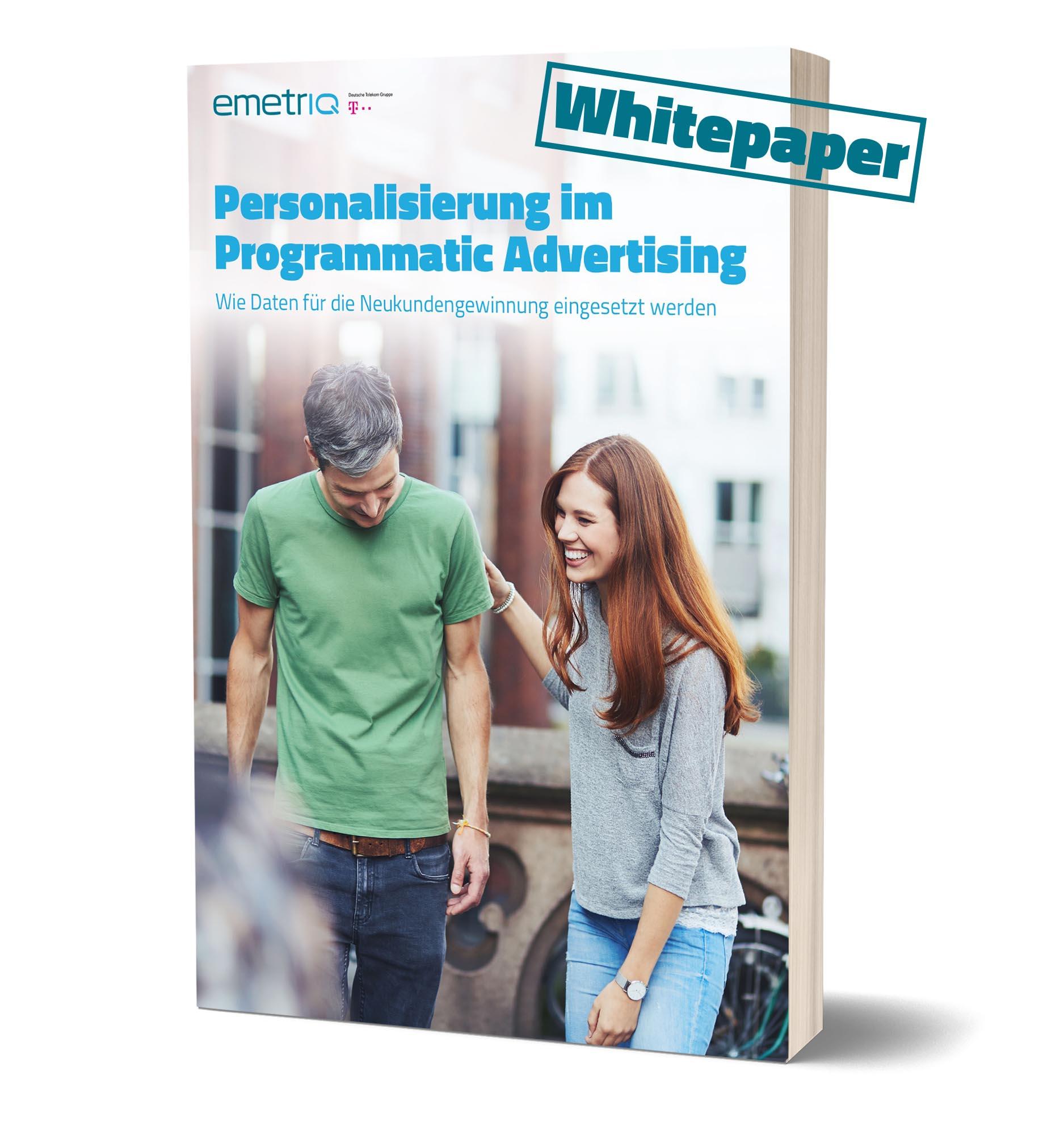 Whitepaper Personalisierung Programmatic Advertising
